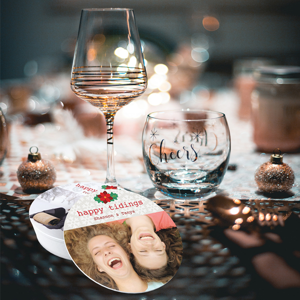 toast to memories with coasters