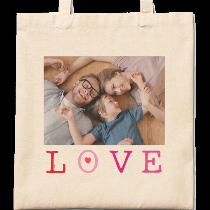 Big Love Cotton Tote Bag