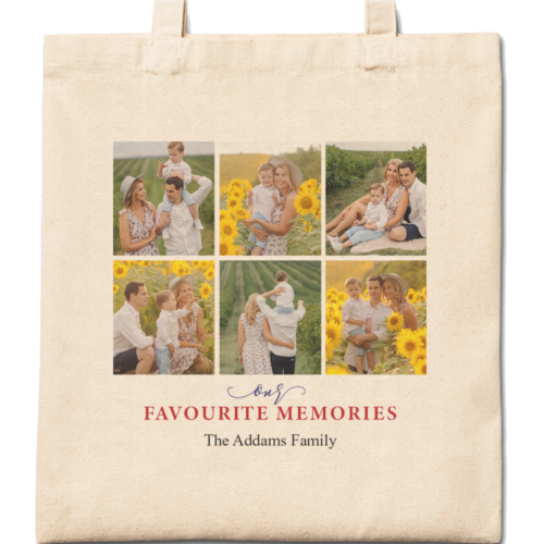 Favourite Memories Cotton Tote Bag